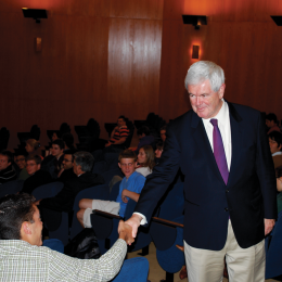 Fledgling Group Aims to Spark Student Support for Gingrich