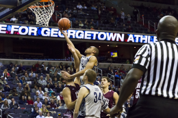 MEN'S BASKETBALL | Hoyas Survive Scare