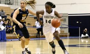 WOMEN'S BASKETBALL | GU Handles Seton Hall