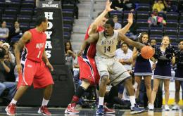MEN'S BASKETBALL   Thompson, Freshmen Shine in Rout