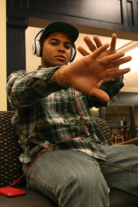 GU Rapper Lays Down Track