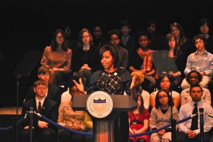 First Lady Encourages Study Abroad
