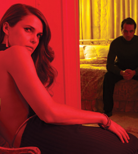 "TVGUIDE.COM UNDERCOVER STARS Keri Russell plays a spy in ""The Americans."""