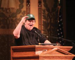 Moore Talks Student Activism