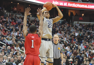 FILE PHOTO: CHRIS BIEN/THE HOYA Rising sophomore Otto Porter will be counted on for more contributions this coming season.