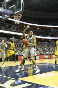FILE PHOTO: CHRIS GRIVAS/THE HOYA Sophomore forward Otto Porter Jr. will play an essential role Saturday in breaking down Syracuse's zone