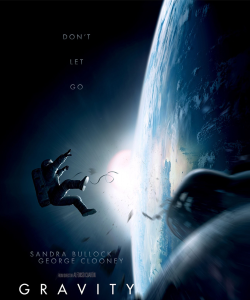 WARNERBROSPICTURES Two of Hollywood's biggest stars set out to explore outer space in 'Gravity.'