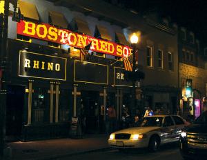 HUNTER MAIN/THE HOYA Rhino Bar and Pumphouse on M Street.