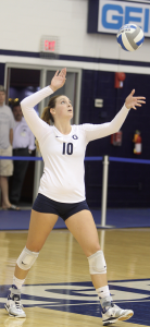 VOLLEYBALL | Simpson Shines in Win
