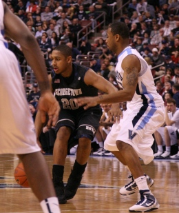 Freshmen Mistakes Hurt Hoyas in Loss