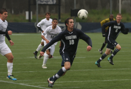 MEN'S SOCCER | Hoyas Fall to SJU in Opening Round