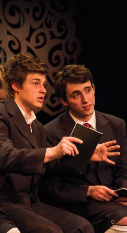 Students Shine in Controversial Play