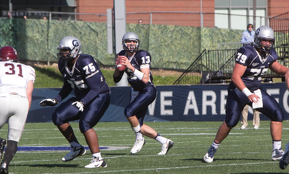 FOOTBALL | GU Preps for Last Home Game