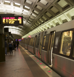 MICHELLE XU/THE HOYA WMATA is looking at new ways to curtail the effects of projected increases in Metro traffic, including a possible tunnel from Rosslyn to Georgetown.