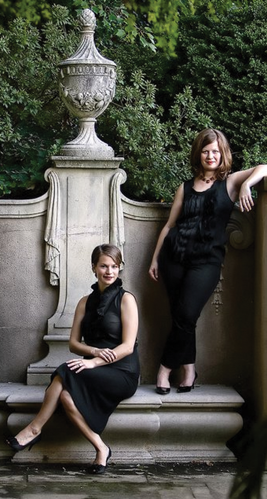 CLASSIC INSPIRATION: Bethie Hungerford and Allison Mondel of the Ensemble for Medieval Music.