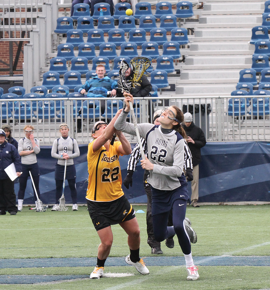 WOMEN'S LACROSSE | ND Bout to Follow Lifeless Marquette
