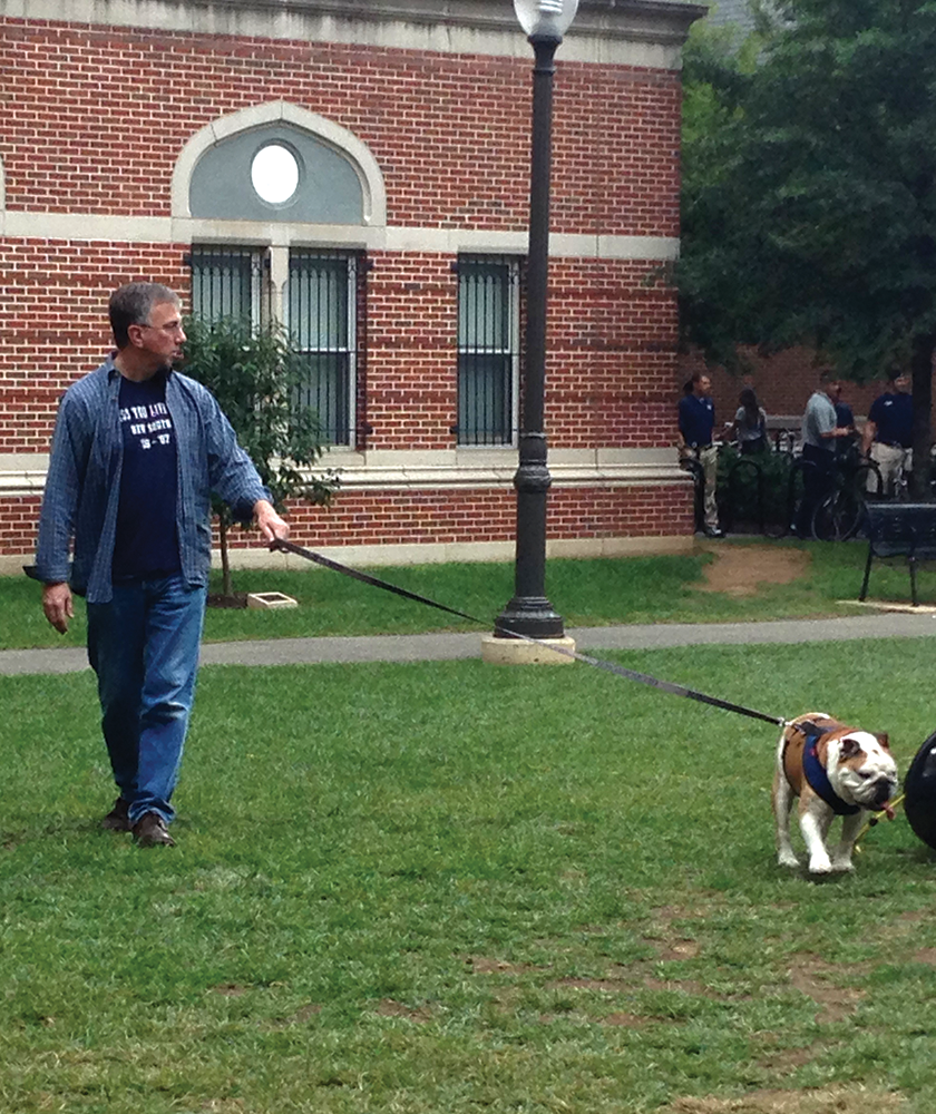 GU Tightens the Leash on Mascot Care