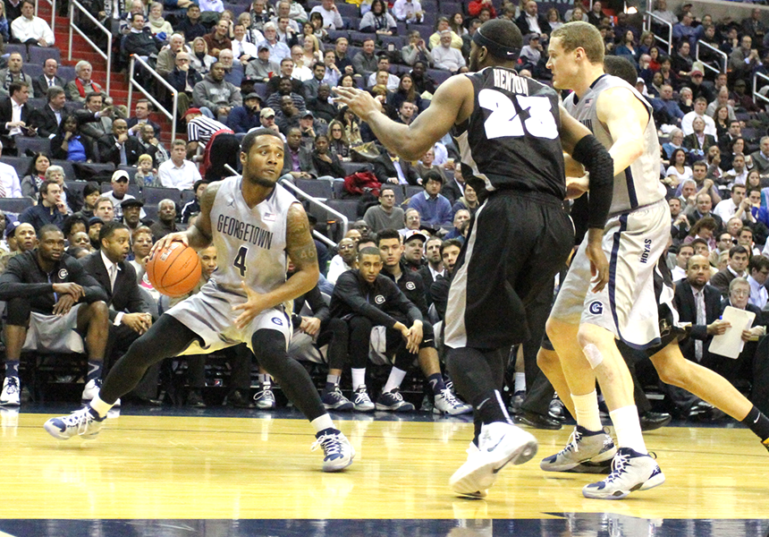 MEN'S BASKETBALL | Second-Half Rally Lifts GU