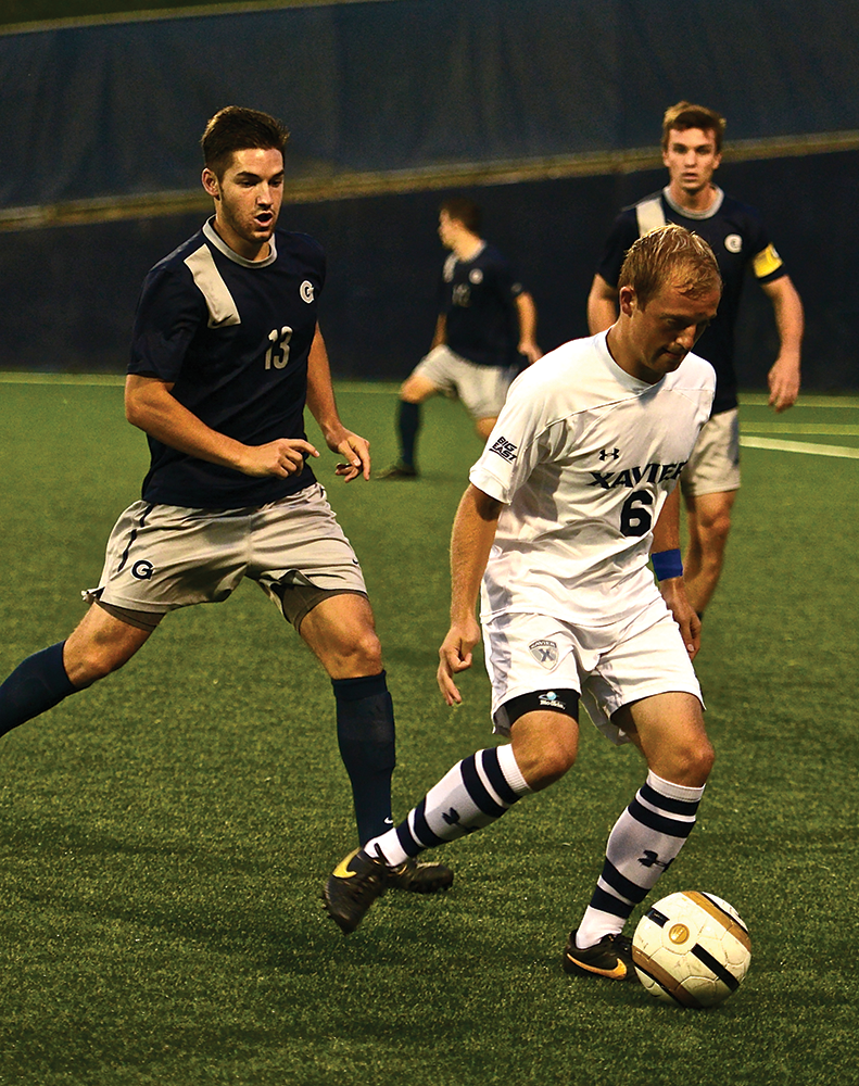 MEN'S SOCCER | Hampered by Injuries, Hoyas Fall 2-1