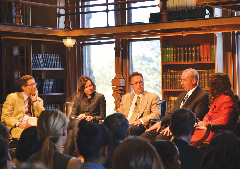 Panel Recounts Balkan Horrors