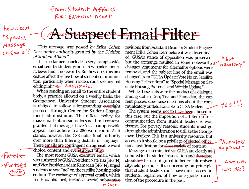 A Suspect Email Filter