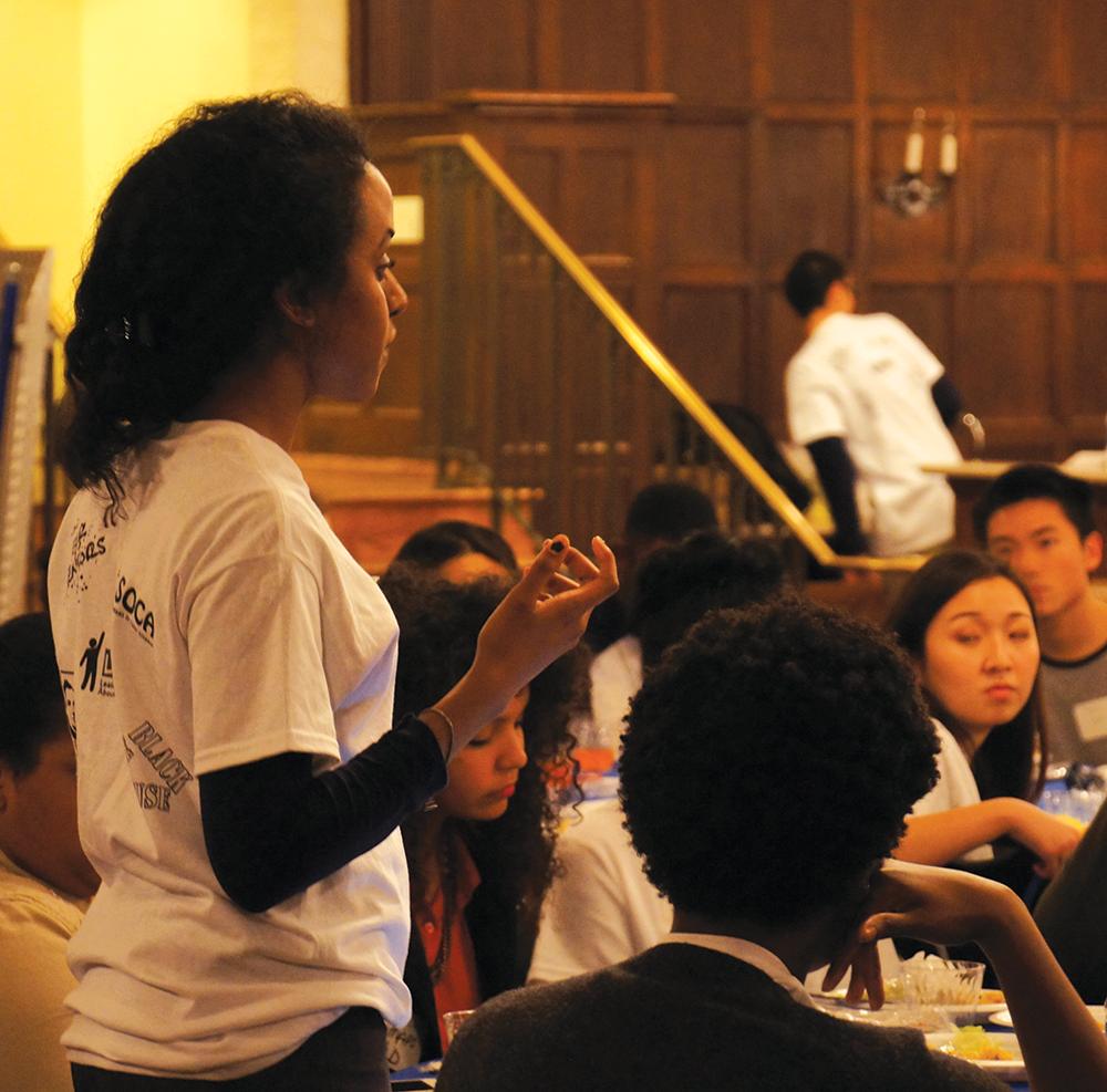 Students of Color Alliance Talks Diversity Over Dinner