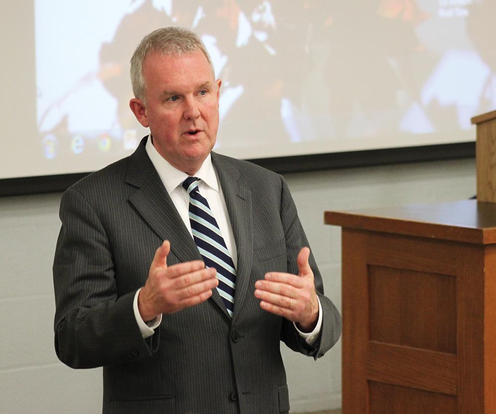 Wells Kicks Off Mayoral Candidate Speaker Series