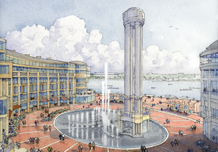 Waterfront Revamp Moves Forward