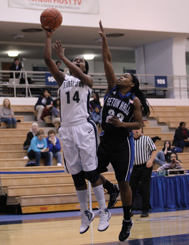 WOMEN'S BASKETBALL | Georgetown Drops Last Home Contest