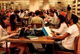 SFS-Q Students Acclimate to D.C. Campus Culture