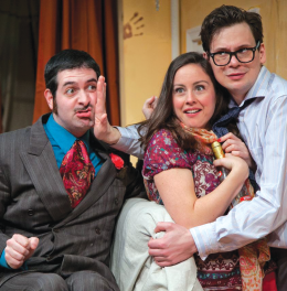 'Black Comedy' Brings Humor to Light