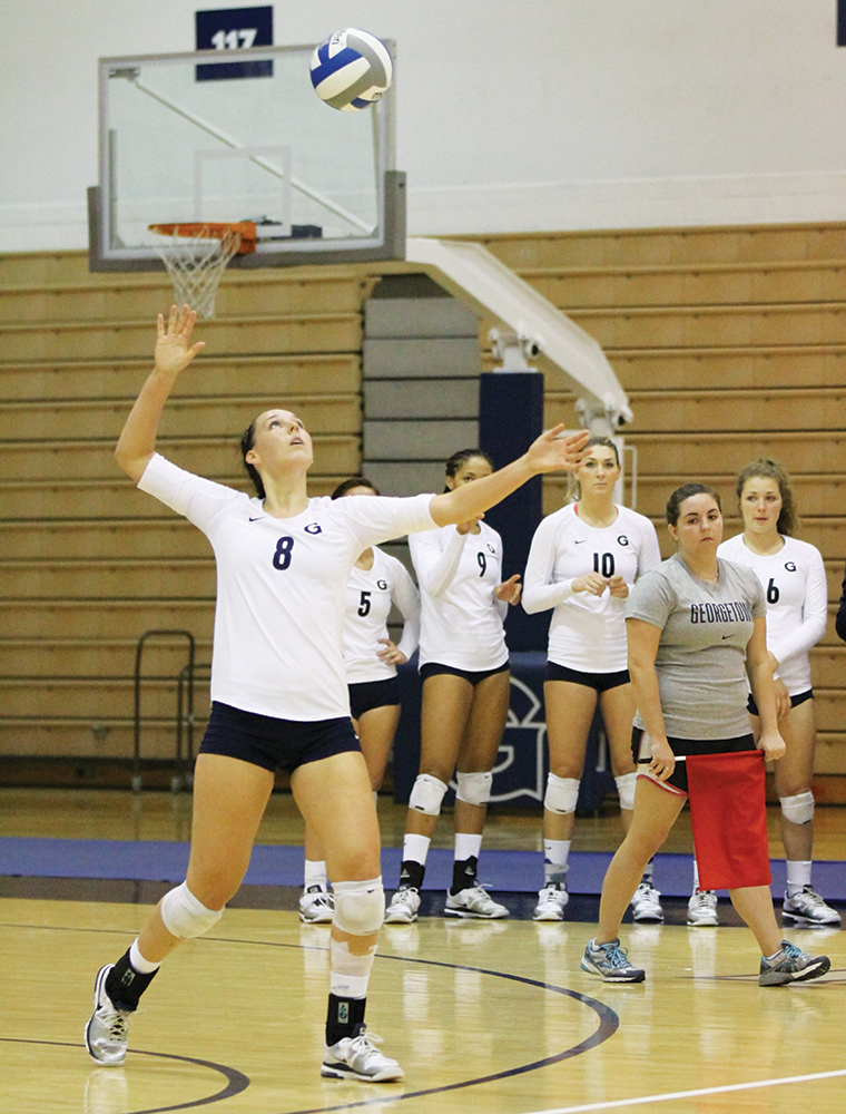 VOLLEYBALL | GU Bounces Back in Fla.
