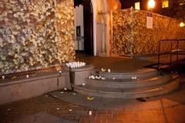 Condoms, Alcohol found on Dahlgren Chapel Steps