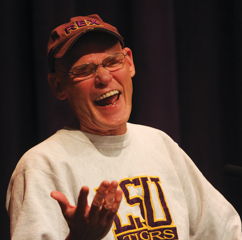 Carville Gives Life Advice