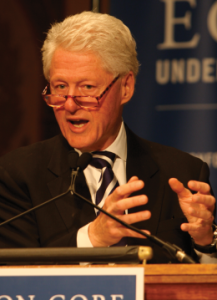 Clinton Reflects on His Economic Record