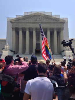 GU Students Witness Historic Ruling
