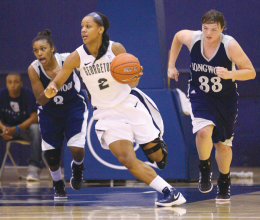 WOMEN'S BASKETBALL | Hoyas Drop Second Top-25 Game
