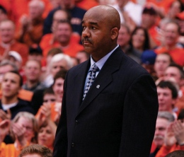 Head Coach John Thompson III could only watch as his team failed to build on an energizing 14-0 run to start last night's game.