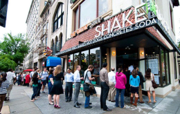 Have a Break and a Snack at DC's New Shake Shack