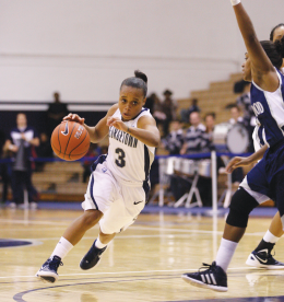 WOMEN'S BASKETBALL | Rodgers Lights Up Coppin State