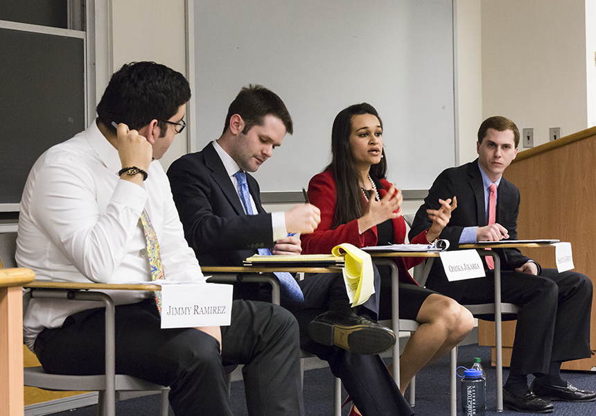 GUSA Candidates Face Off in VP Debate