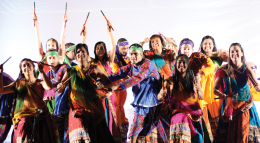 A Whirlwind of Color Student-Run Tradition Celebrates South Asian Culture