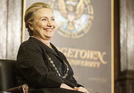 Clinton Talks Energy Goals