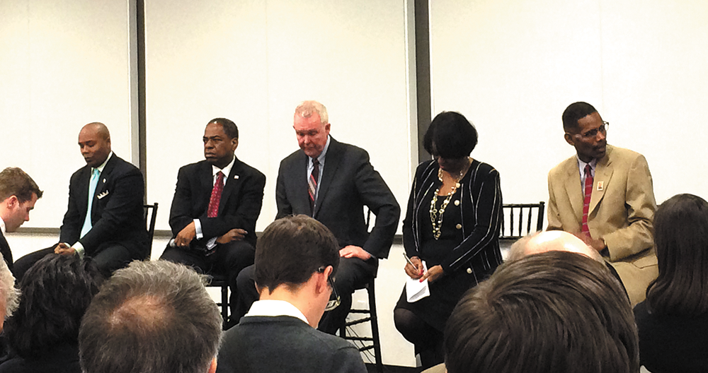 Eclectic Group Meets at Mayoral Debate