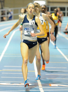 FEMALE ATHLETE OF THE YEAR   Infeld Sets Pace for Hoyas