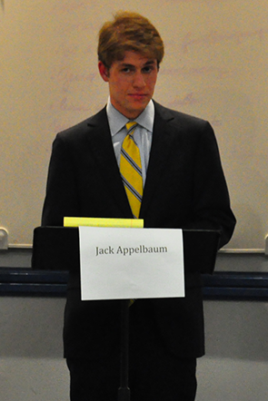 Secret Society Disclosure Brings Focus to Appelbaum Campaign