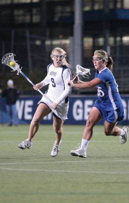 WOMEN'S LACROSSE | Georgetown Aims for Upset Against Irish