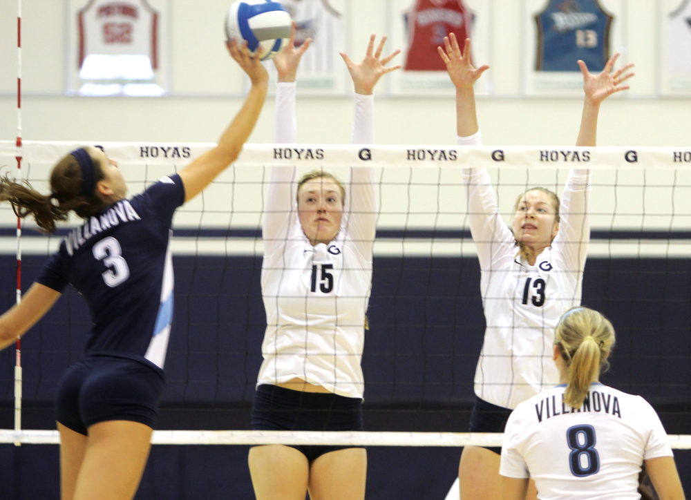 VOLLEYBALL | Hoyas Squander Chances In Pair of Big East Tests