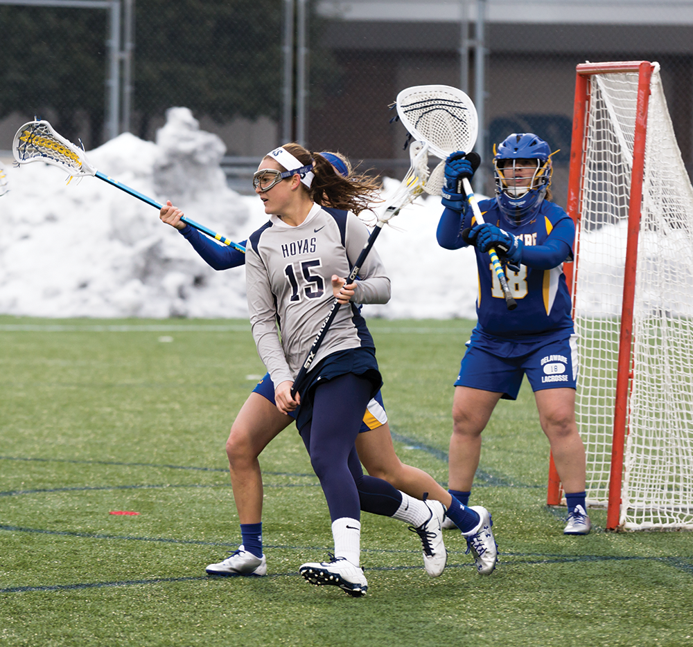 WOMEN'S LACROSSE | Hoyas Drop 3rd Straight Game Against No. 11 Johns Hopkins