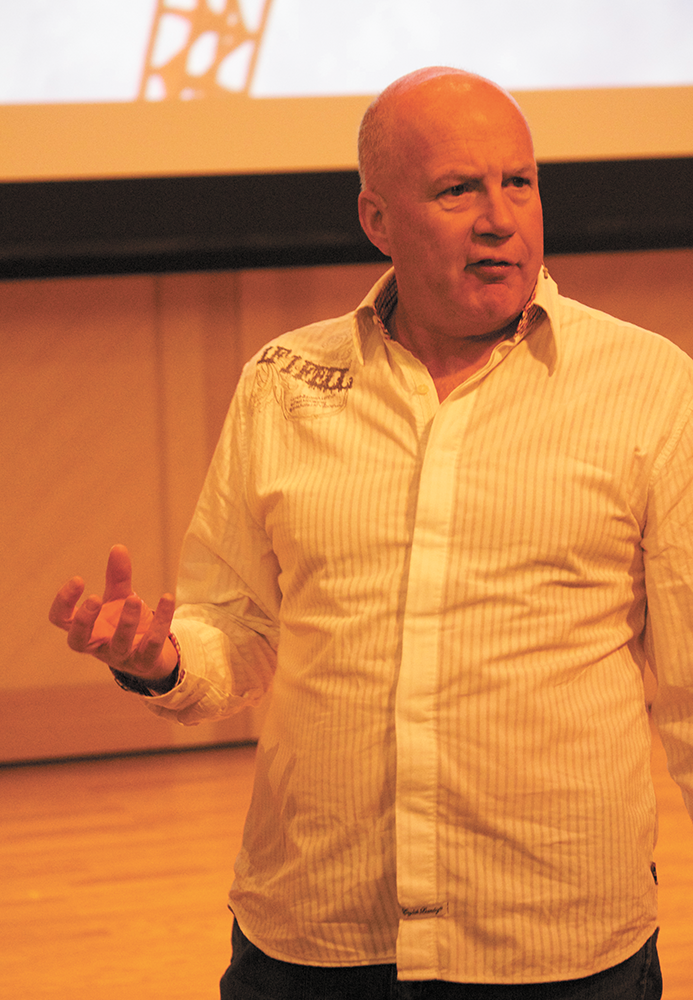 Saatchi CEO Shares Advertising Expertise